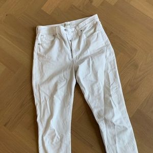 """Madewell """"Perfect Summer Jean"""" in White Sz 27"""